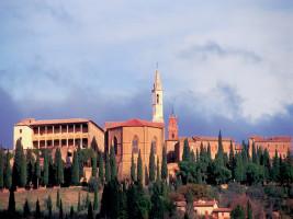 Toscana Pienza gamle bydel