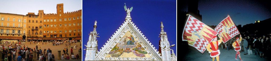 toscana siena gamle bydel