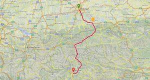 österreich toskana route1