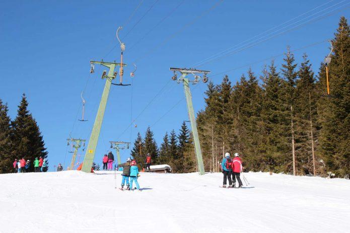 Skifahren in der Toskana