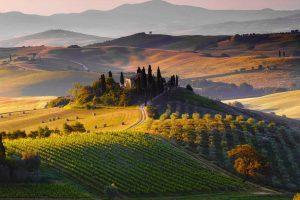 Paesaggio in Chianti