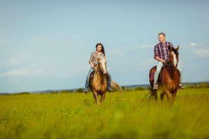 Gennem Toscana på hesteryg