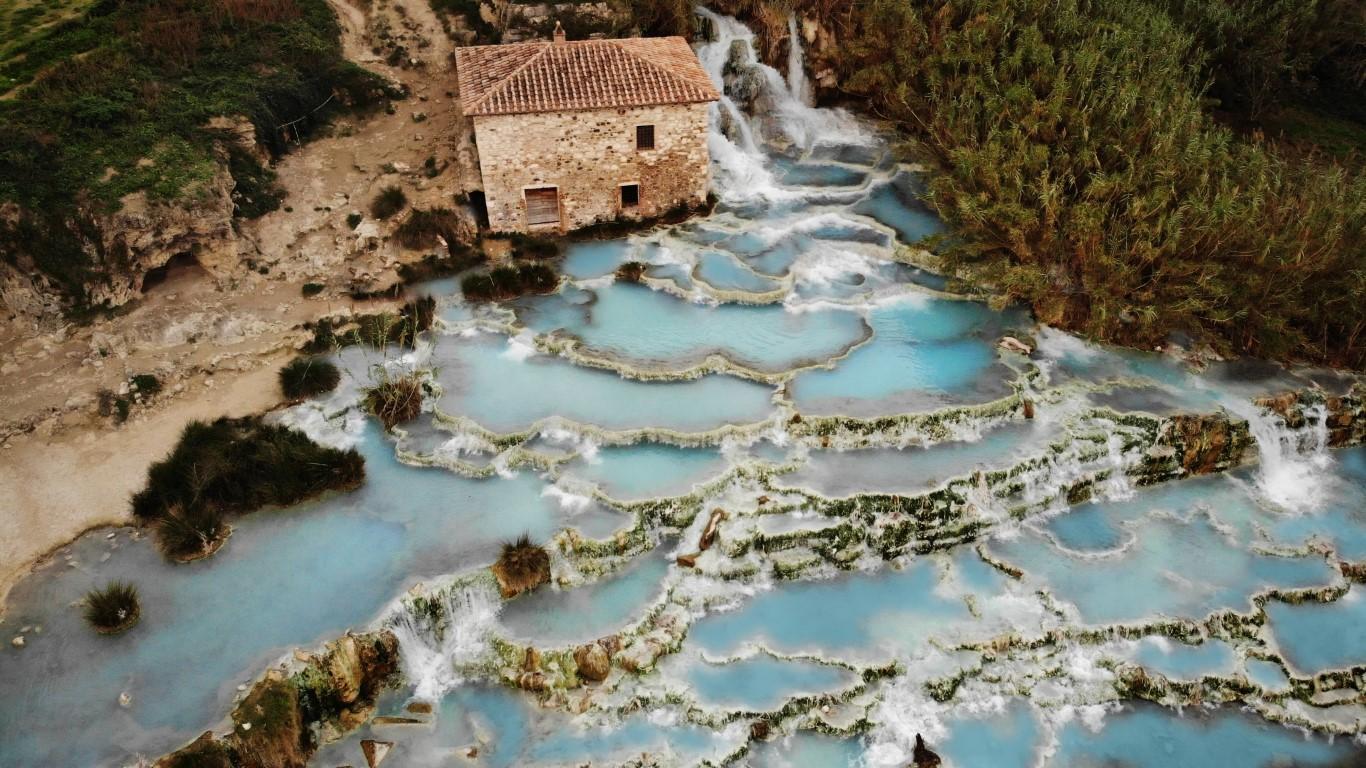 Heilbader In Der Toskana Urlaub Mit Dem Wellnessfaktor