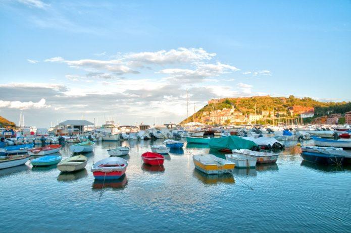 Bootstour in der Toskana