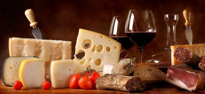 Essen und Trinken in der Toskana