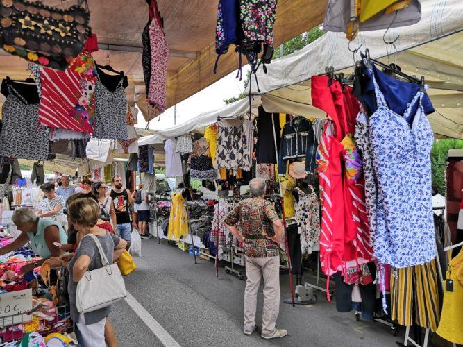 Markttag in der Toskana