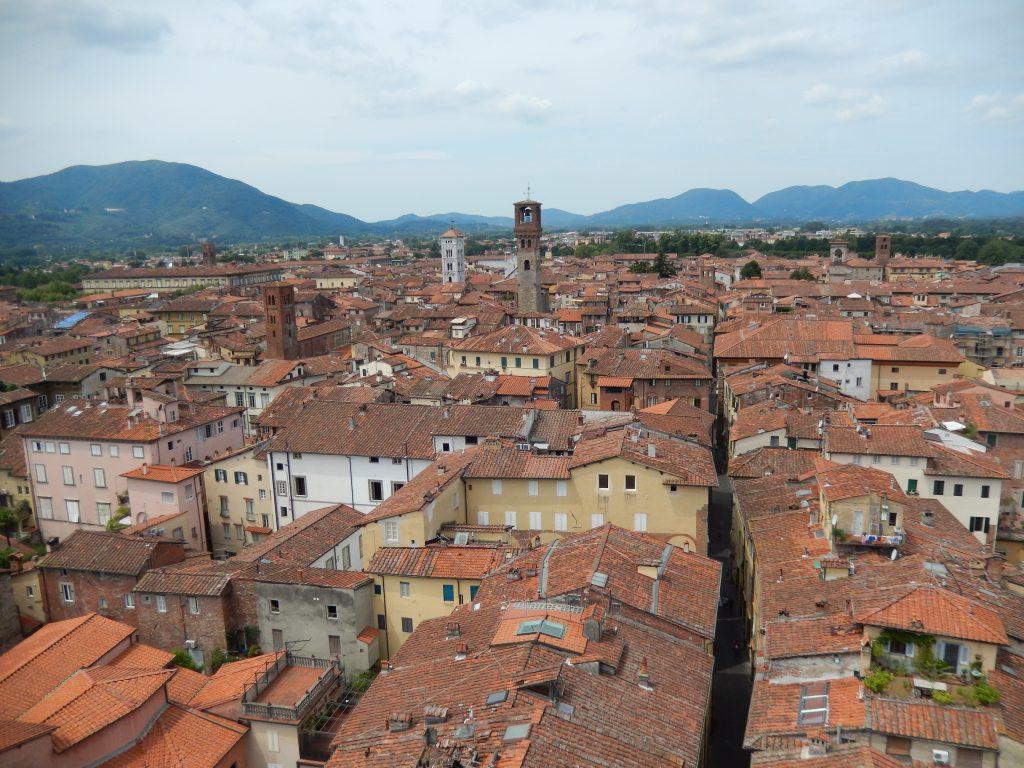 Udsigt over Lucca
