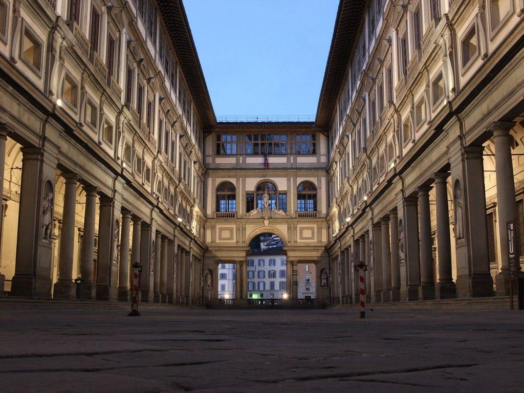 Uffizi Gallery i Firenze