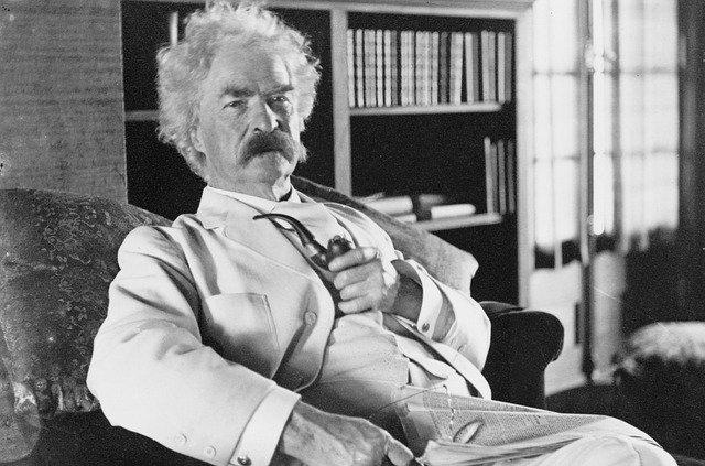 Mark Twain Vintage Author Humorist