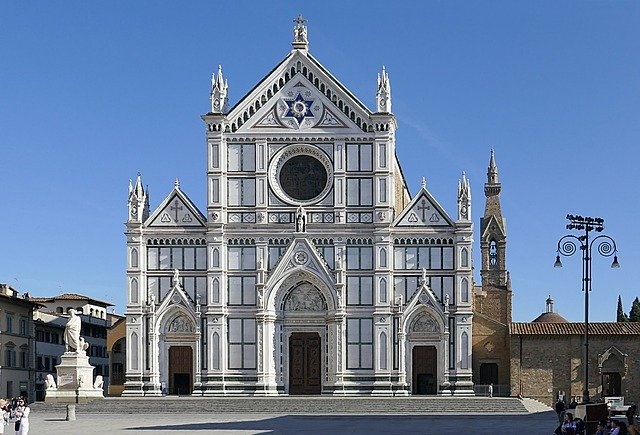 Santa Croco Basilika / Florenz