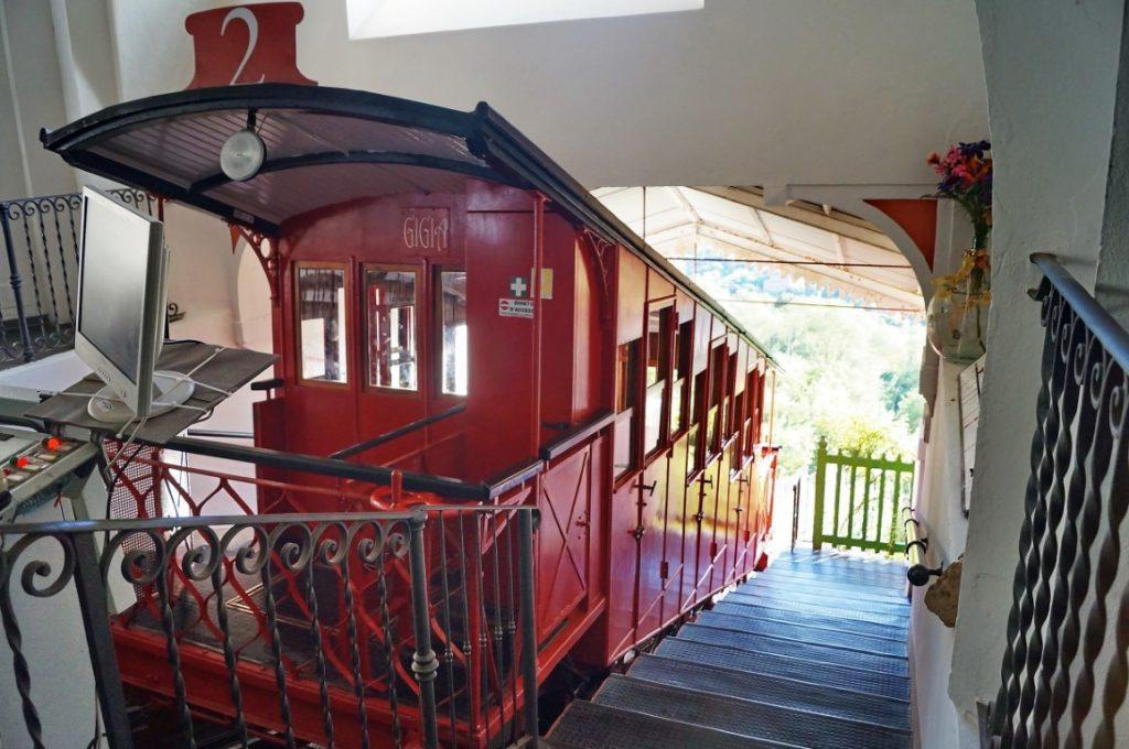 Bahn in Montecatini Alto