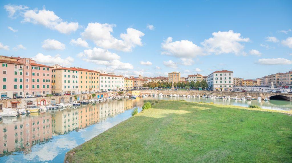 """Livorno in """"Neu Venedig"""""""