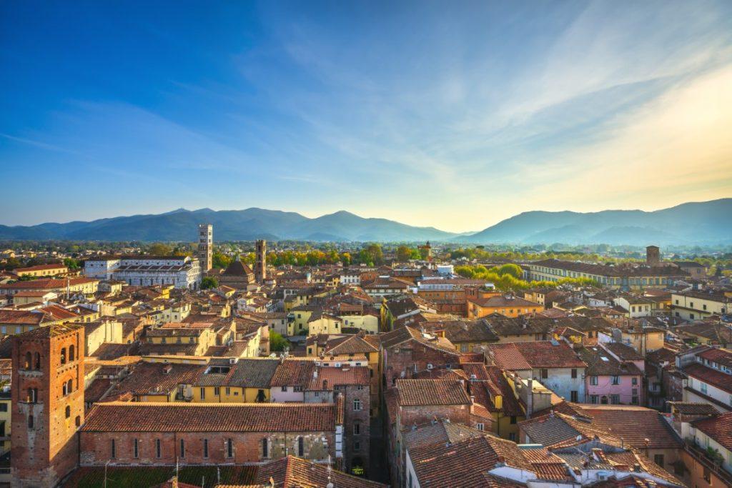 Die Dächer von Lucca