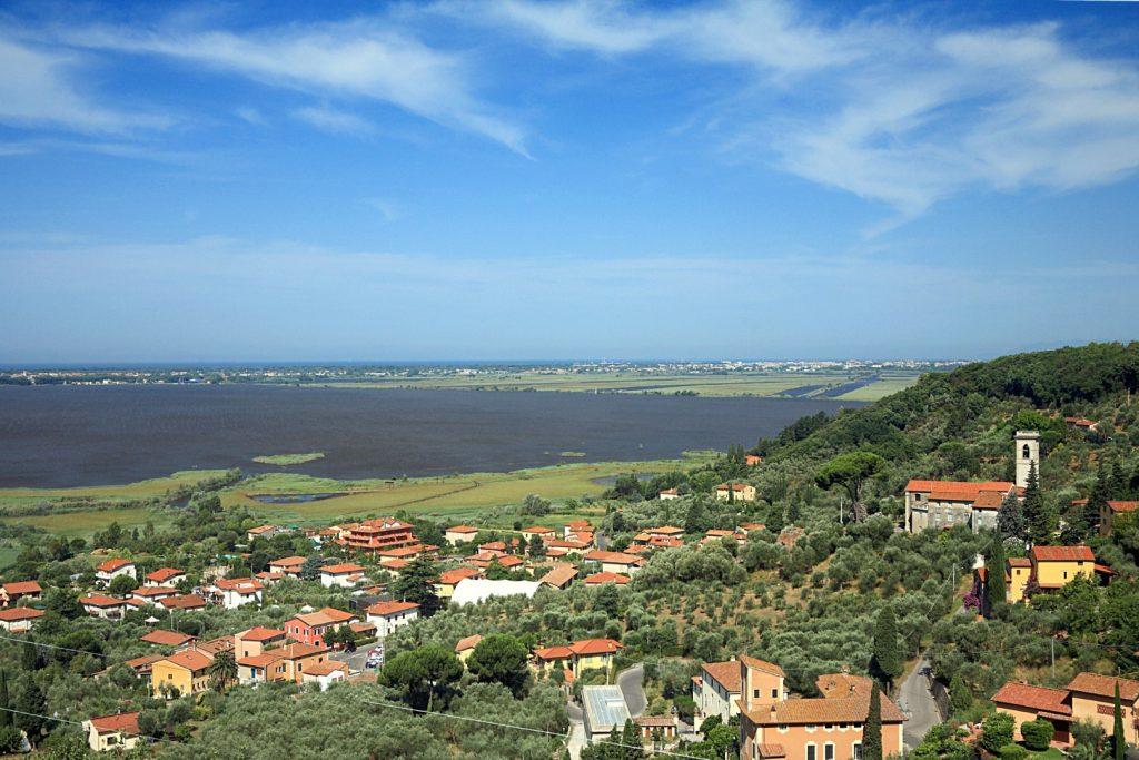 Römische Therme am Lago di Massaciucoli