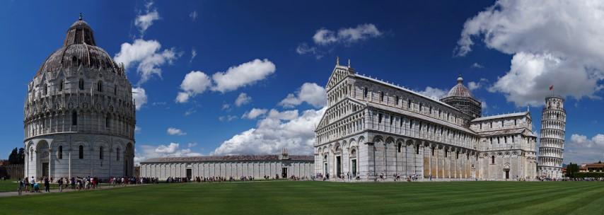 Pisa - Piazza dei Miracoli [Platz der Wunder]