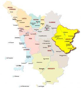 Provinz-Arezzo