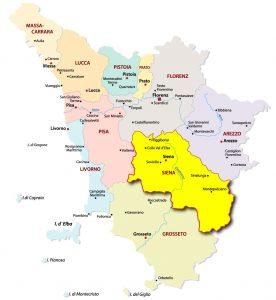 Provinz-Siena