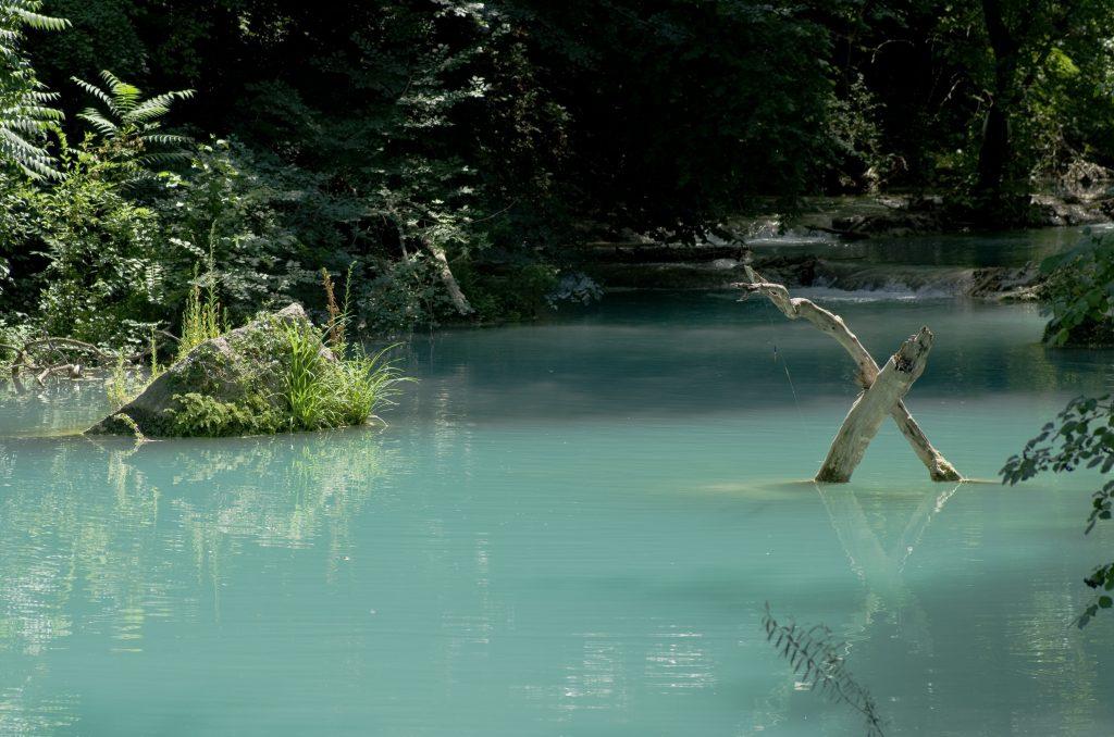 Türkisfarbig - Der Fluss Elsa