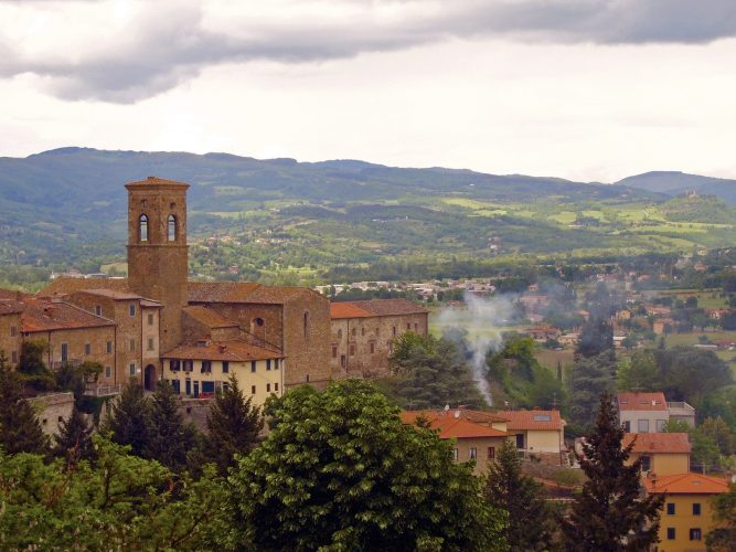 Poppi in der Toskana