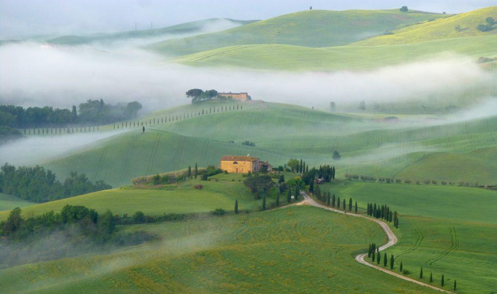 Orcia-Tal in der Toskana