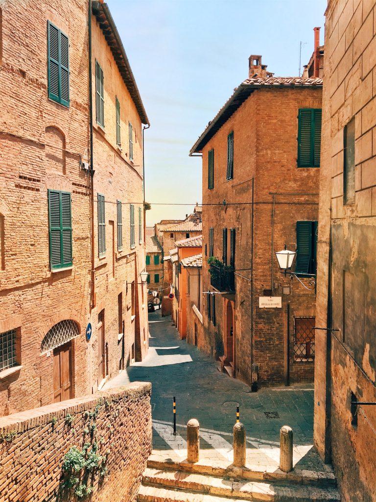 Warm Tones in Siena