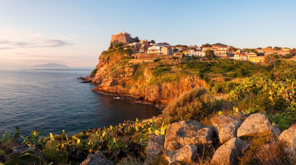 Panorama på Capraia