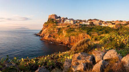Panorama auf Capraia