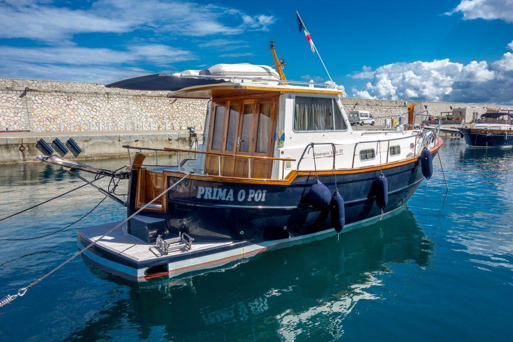 Boot im Hafen
