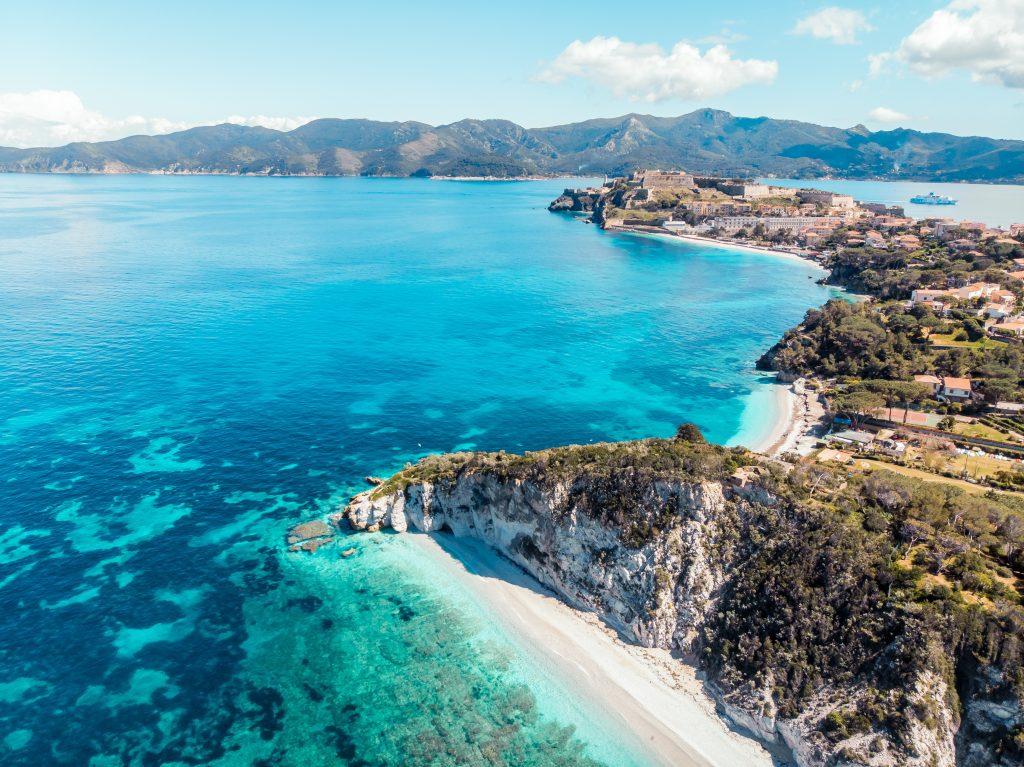 Die Küste von Elba