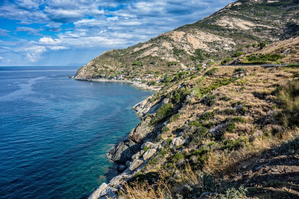 landscape, island of elba, italy