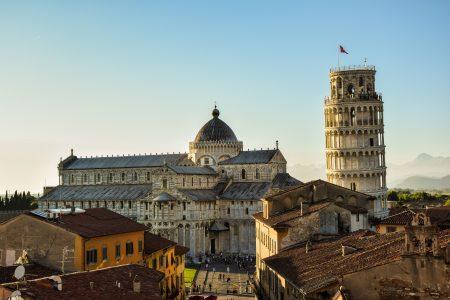Pisa v Toskani