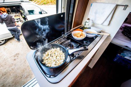 Zum kochen wird Gas benötigt