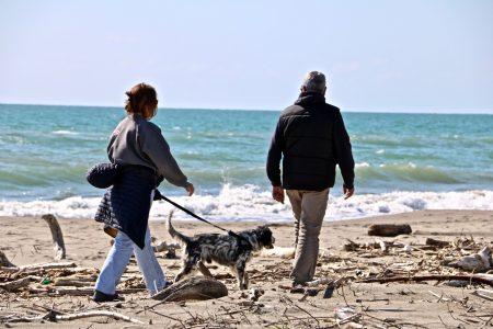 Strand gåtur