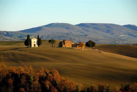 Einsames Ferienhaus in der Toskana