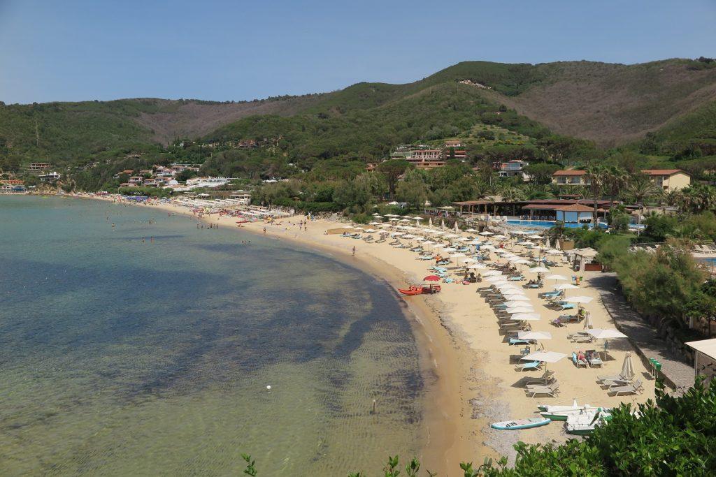 Biodola Strand, Elba