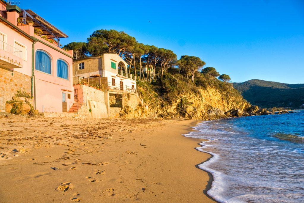 Sandstrand bei Forno auf Elba