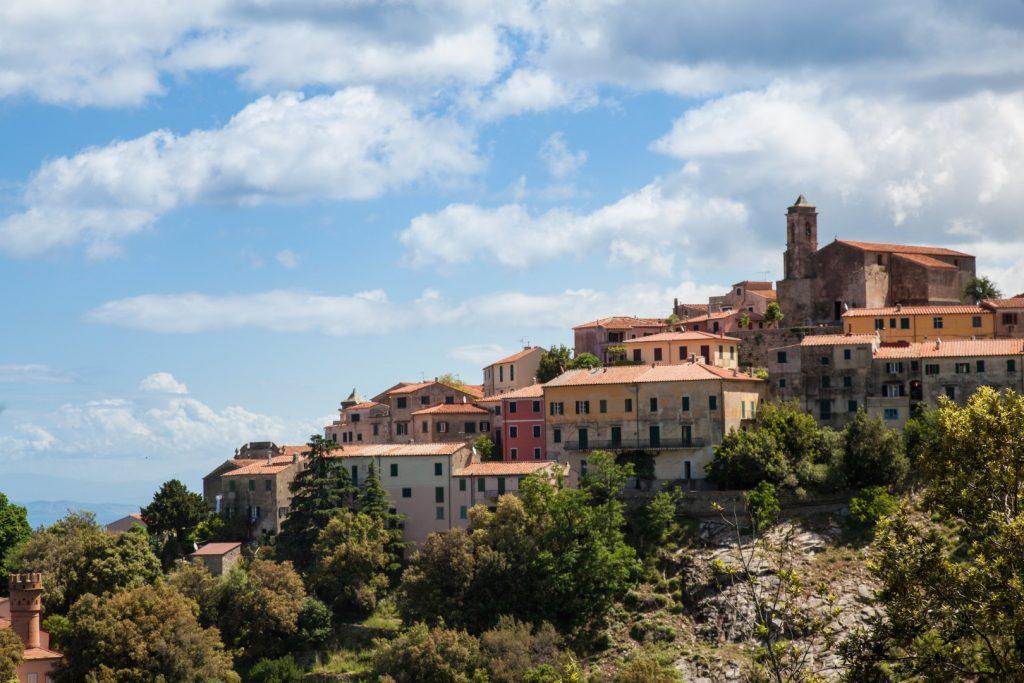Marciana auf der Insel Elba
