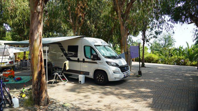Campingplatz auf Elba