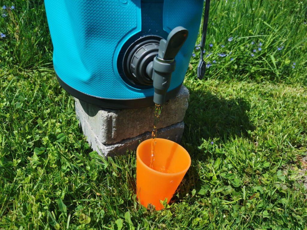 Bequeme Wasserentnahme