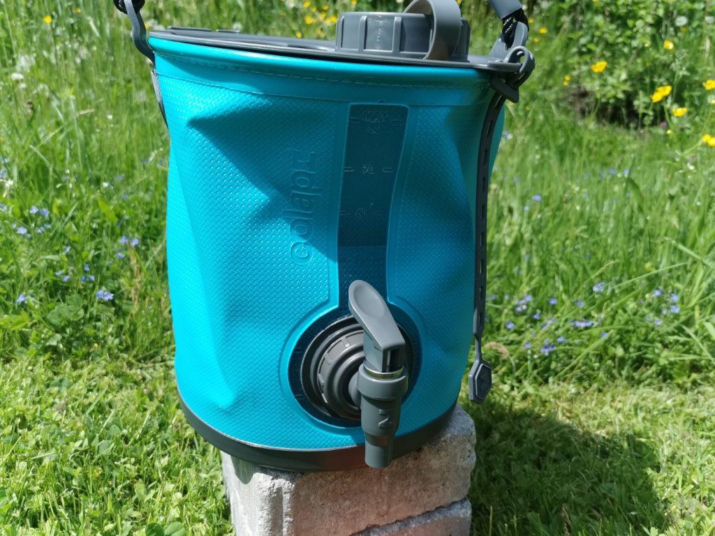Faltbarer Wasserbehälter
