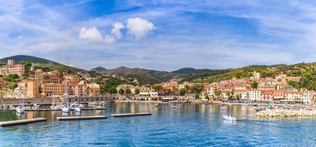 Blick auf Rio Marina