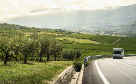 Med autocamperen gennem Toscana