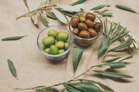 oliven, grøn, middelhavet